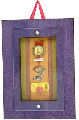 Love Life Quote Shadow Box