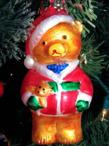 911634_glass_teddy_bear